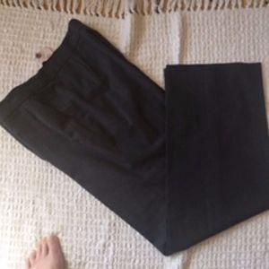 Armani Collezioni Gray Virgin Wool Pants